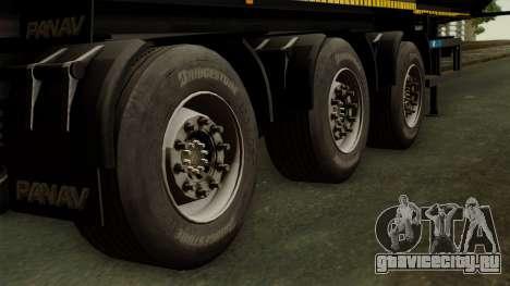 Panav Trailer для GTA San Andreas вид сзади слева