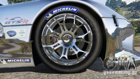 Dodge Viper GTS-R SRT 2013 [Beta] для GTA 5 вид сзади справа