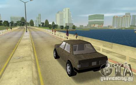 Дизайнер Серии - Адмирал для GTA Vice City вид слева