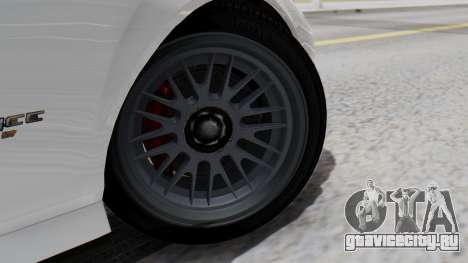GTA 5 Banshee для GTA San Andreas вид сзади слева