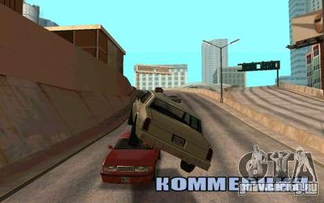 Veh Jump для GTA San Andreas второй скриншот