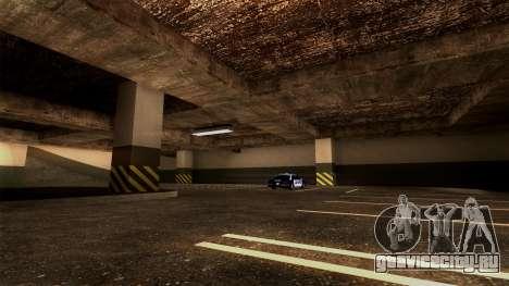Новая парковка LSPD для GTA San Andreas шестой скриншот