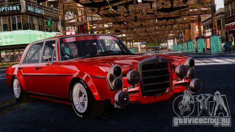 Mercedes-Benz 300 SEL 6.8 AMG W109 для GTA 4