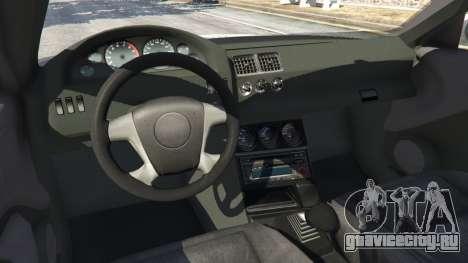 BMW M3 GTR E46 PJ3 для GTA 5 вид справа