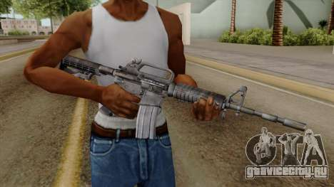 Original HD M4 для GTA San Andreas третий скриншот