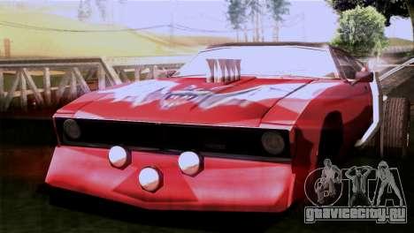 Ford Falcon XA Red Bat Mad Max 2 для GTA San Andreas