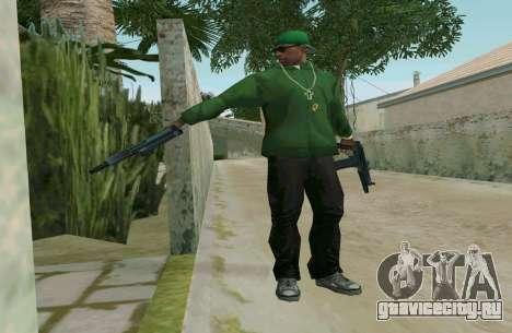 АКС-74У для GTA San Andreas пятый скриншот