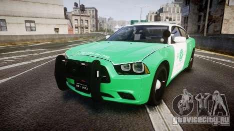 Dodge Charger Carabineros de Chile [ELS] для GTA 4
