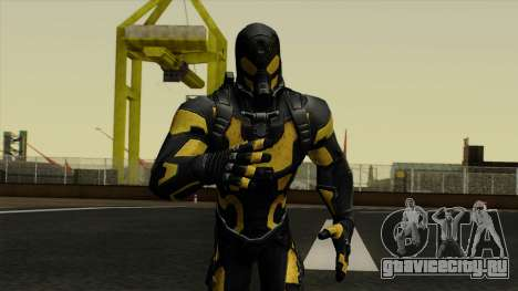 Ant-Man Yellow Jacket для GTA San Andreas