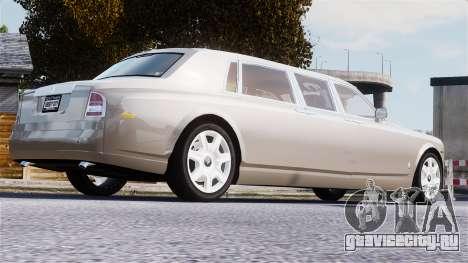 Rolls-Royce Phantom LWB для GTA 4 вид сверху