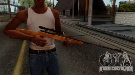 Original HD Sniper Rifle для GTA San Andreas