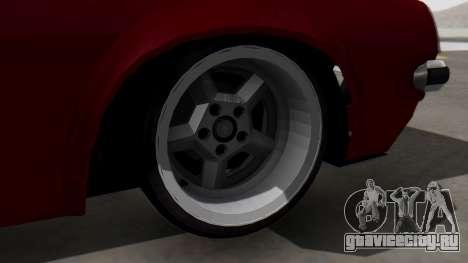 Opel Manta B1 для GTA San Andreas вид сзади слева