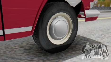 ГАЗ 21 Волга v3 для GTA San Andreas вид сзади слева