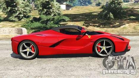 Ferrari LaFerrari 2015 v0.5 для GTA 5 вид слева