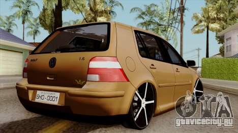 Volkswagen Golf 2004 Edit для GTA San Andreas вид слева