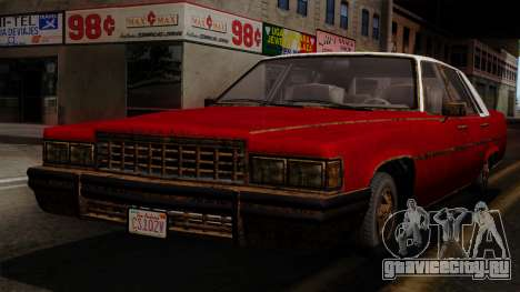 GTA 5 Albany Emperor Worn IVF для GTA San Andreas