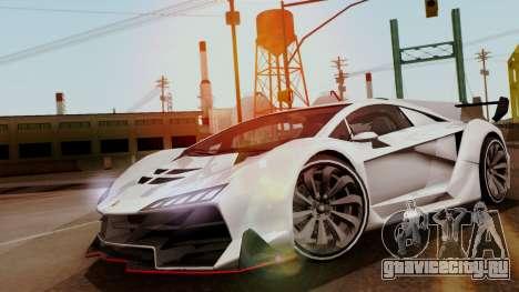 Pegassi Zentorno Veneno для GTA San Andreas
