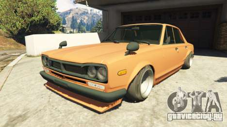 Nissan Skyline 2000 GT-R 1970 v0.1 [Beta] для GTA 5