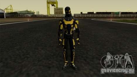Ant-Man Yellow Jacket для GTA San Andreas второй скриншот