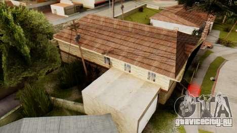 New House for CJ для GTA San Andreas третий скриншот