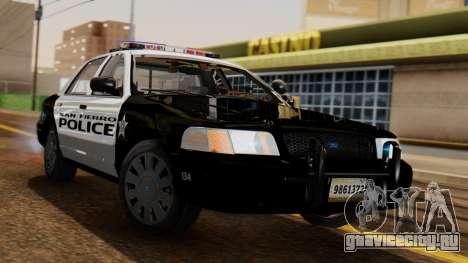 Police SF 2013 для GTA San Andreas