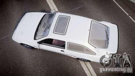 Ford Sierra RS500 Cosworth для GTA 4 вид справа