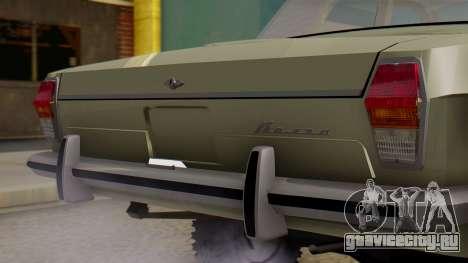 ГАЗ 24-95 для GTA San Andreas вид сзади