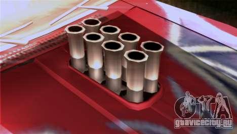 Ford Falcon XA Red Bat Mad Max 2 для GTA San Andreas вид сзади