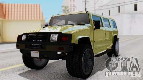 GTA 5 Patriot Dirt для GTA San Andreas