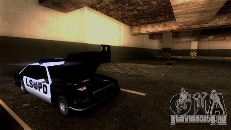 Новая парковка LSPD для GTA San Andreas