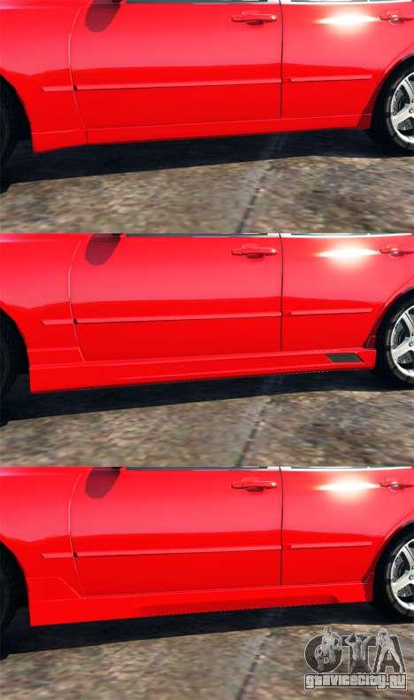 Lexus IS300 для GTA 5 руль и приборная панель