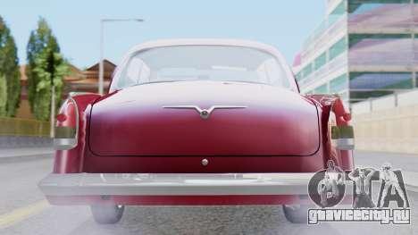 ГАЗ 21 Волга v3 для GTA San Andreas вид изнутри