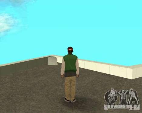 Новый парень на районе Грув Стрит для GTA San Andreas второй скриншот