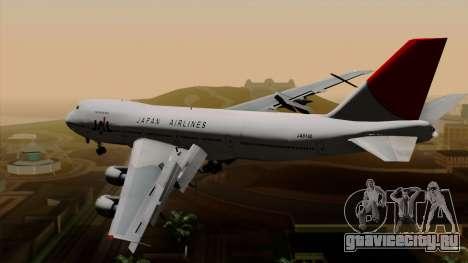 Boeing 747 JAL для GTA San Andreas вид слева