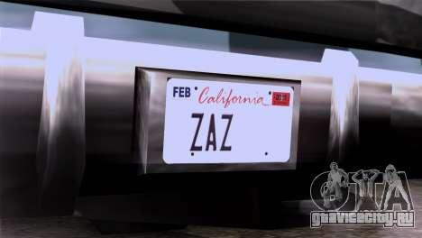 CA & NV License Plates для GTA San Andreas третий скриншот