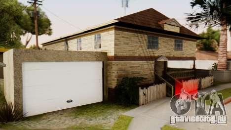 New House for CJ для GTA San Andreas второй скриншот