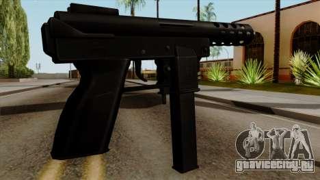 Original HD Tec9 для GTA San Andreas второй скриншот