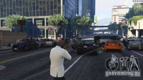 Strapped Peds для GTA 5 третий скриншот