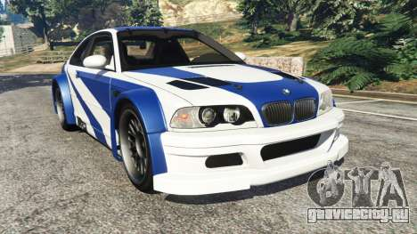 BMW M3 GTR E46 Most Wanted для GTA 5