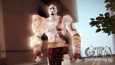God Of War 3 Kratos для GTA San Andreas третий скриншот