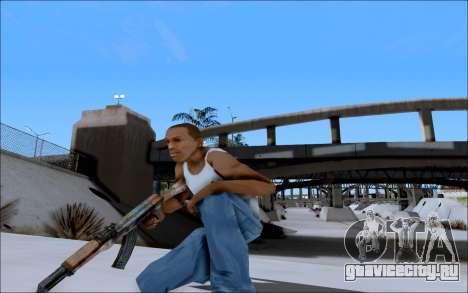 AK-47 Soviet для GTA San Andreas четвёртый скриншот