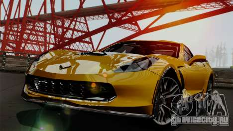 Chevrolet Corvette Z06 1.0.1 для GTA San Andreas