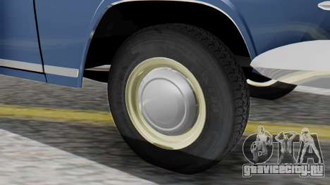 ГАЗ 21 Волга v1 для GTA San Andreas вид сзади слева