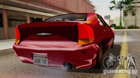 GTA 3 Kuruma SA Style для GTA San Andreas вид слева