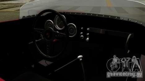 Porsche 550A Spyder 1956 для GTA San Andreas вид справа