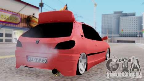 Peugeot 306 GTI для GTA San Andreas вид слева