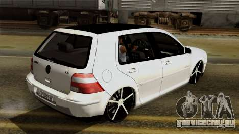 Volkswagen Golf 2004 Edit для GTA San Andreas вид сбоку