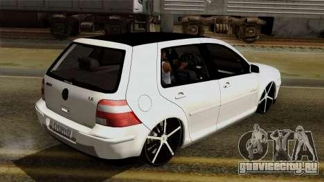 Volkswagen Golf 2004 Edit для GTA San Andreas вид сбоку
