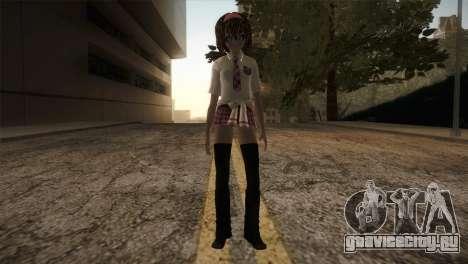 Rasta School Girl для GTA San Andreas второй скриншот