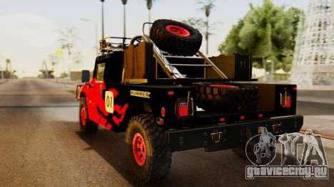 Hummer H1 1993 Baja Edition для GTA San Andreas вид слева